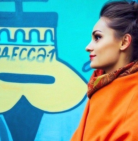 MBFW Russia FW15 day 1 день 1 Нати Ко Nati Ko блоггеры стристайл streetstyle fashion week bridge store showroom orange coat 1-001